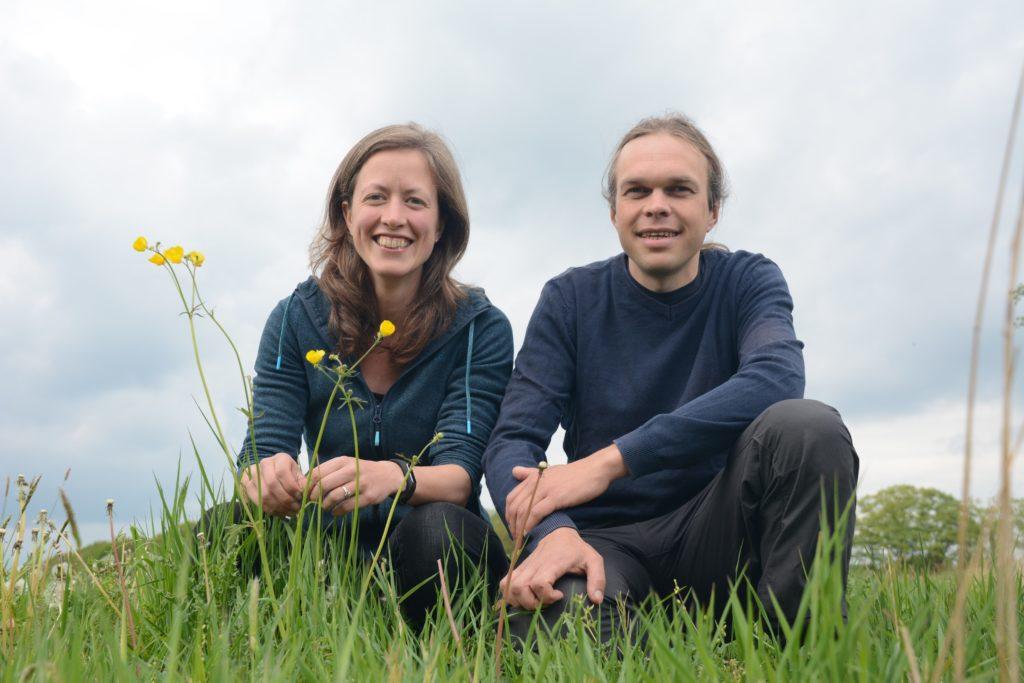Johannes Regelink en Joanne Malotaux