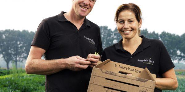 Marcel en Yvonne, groentetelers en Caring Farmers